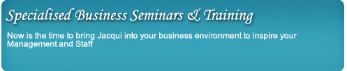 business seminars and training